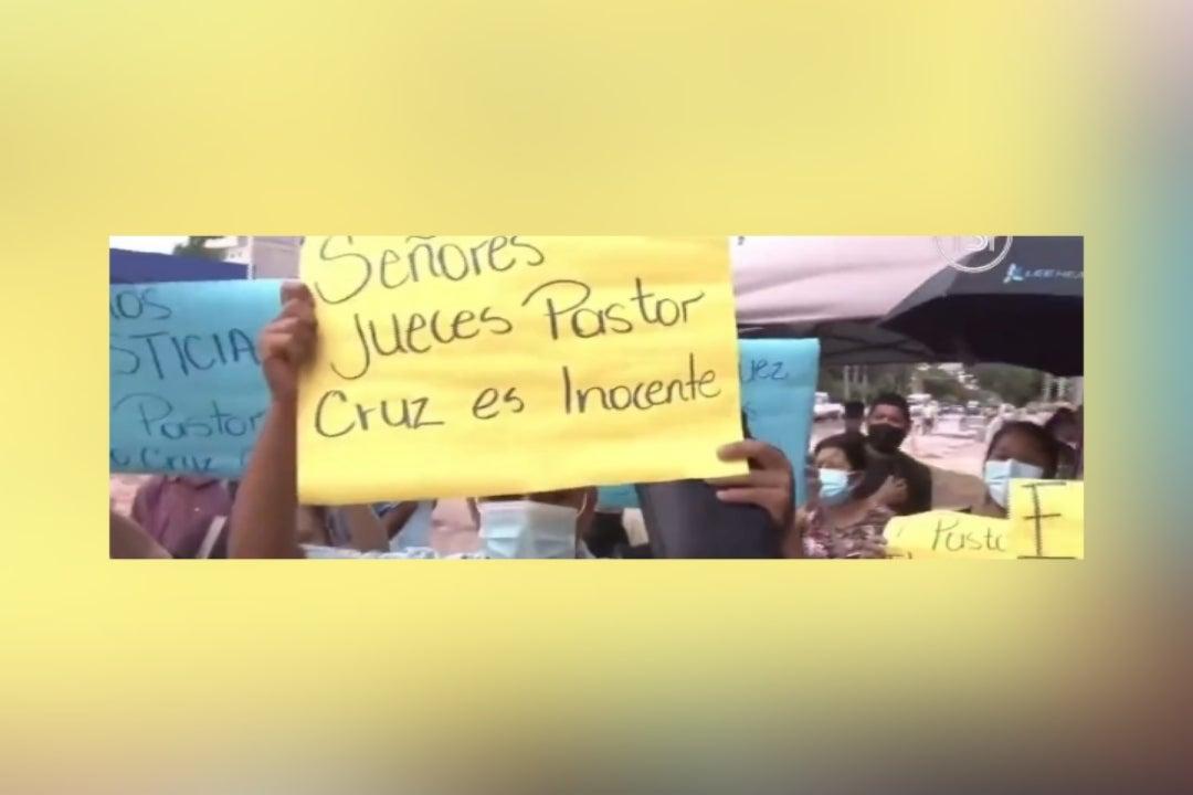 Arrestan a pastor hondureño