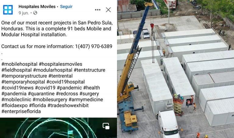 """Elmed Medical presume con """"orgullo"""" venta de hospitales móviles"""