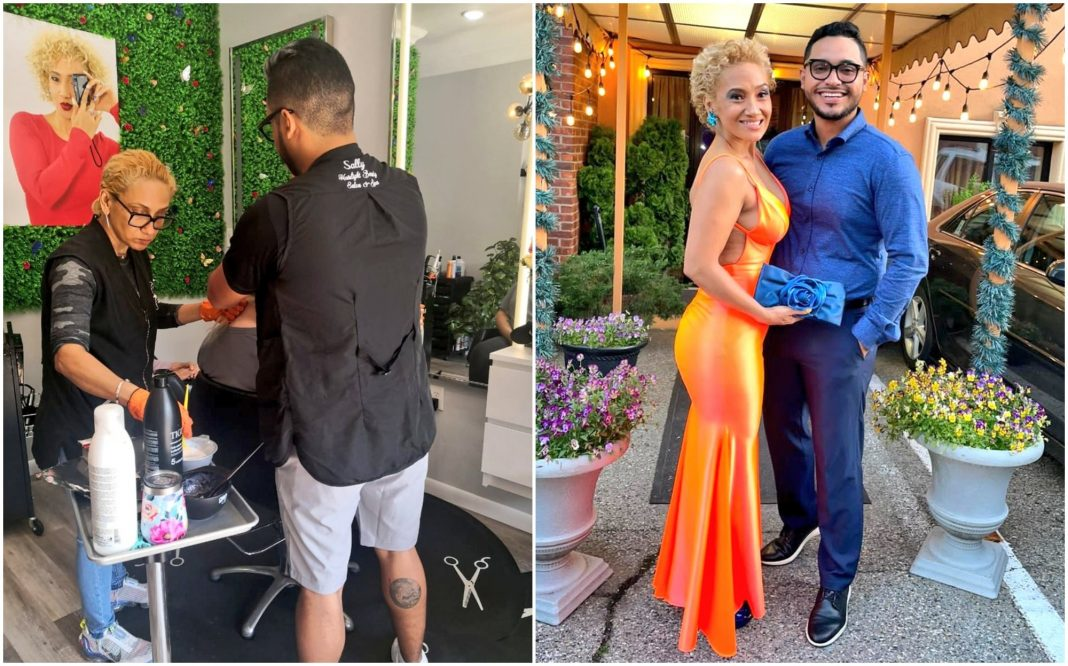 estilista hondureña en EEUU
