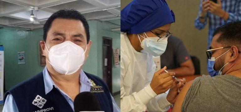 Jefe de Salud lamenta apatía de los capitalinos para vacunarse