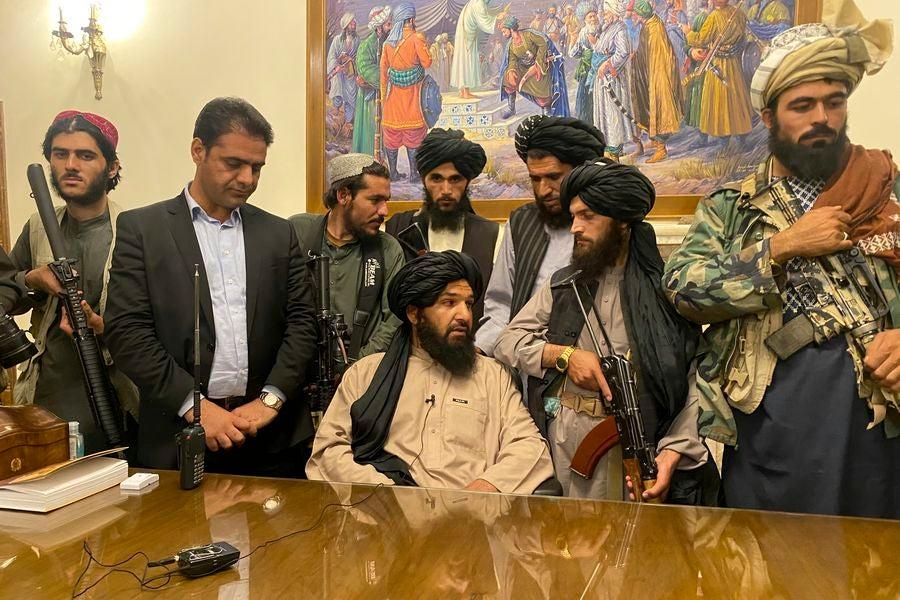 Principales líderes Talibanes