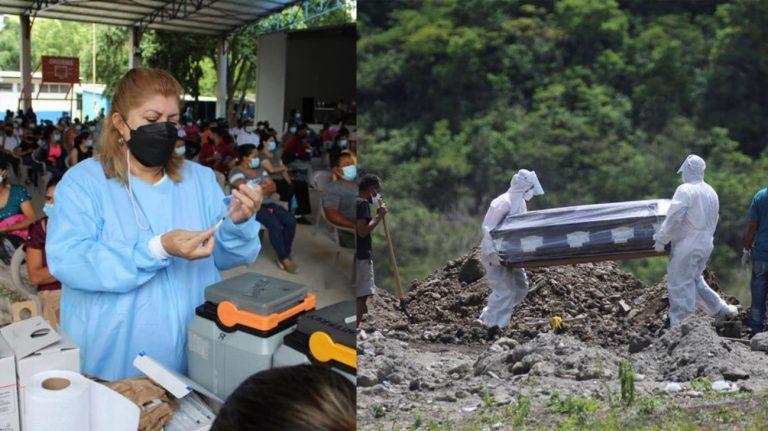 Muere hondureño vacunado con dos dosis de AstraZeneca en el sur