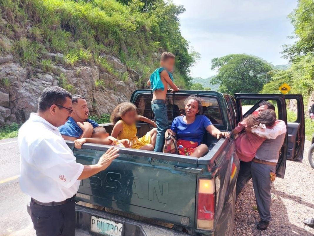 accidente El Corpus Choluteca