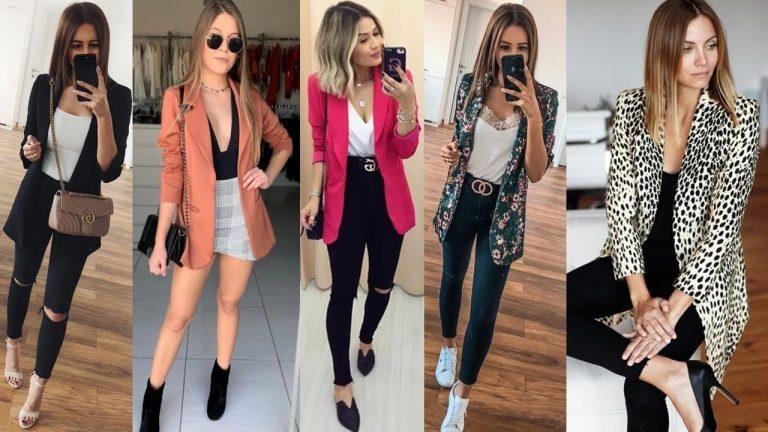 Un blazer y muchas combinaciones: logra un look chic y elegante
