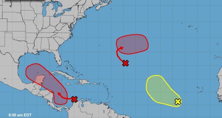 80 % de probabilidades de formación el ciclón que afectaría a CA