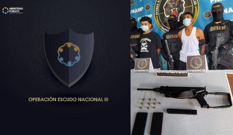 En marcha operación Escudo Nacional III contra maras y pandillas
