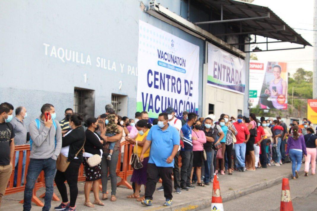 segundo día de vacunatón Honduras