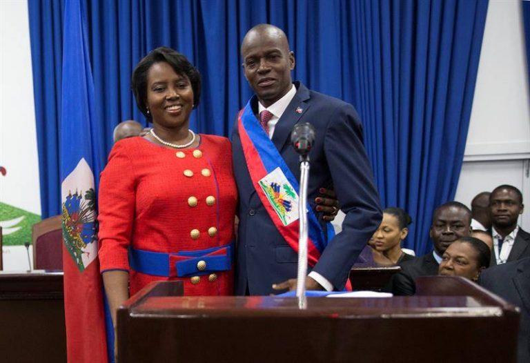 Viuda de Jovenel Moise está pensando lanzarse a la presidencia