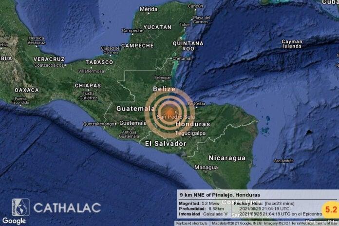 ¿Usted también lo sintió? Reacciones de hondureños tras temblor