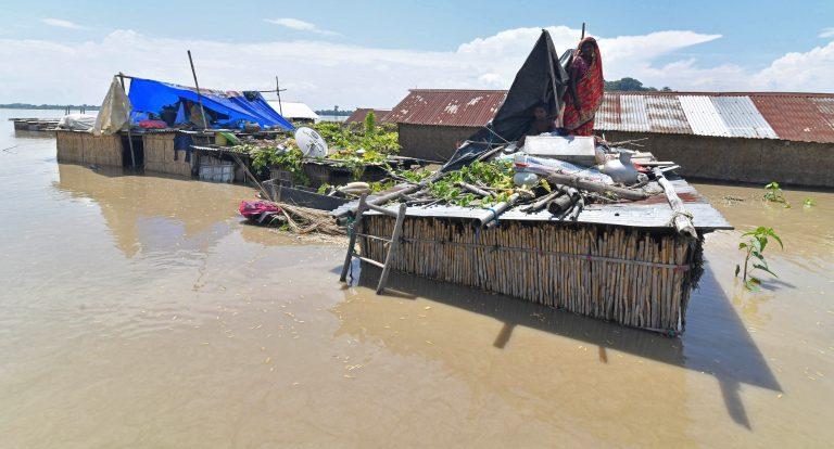 GALERÍA| Más de 100 mil afectados por las inundaciones en India