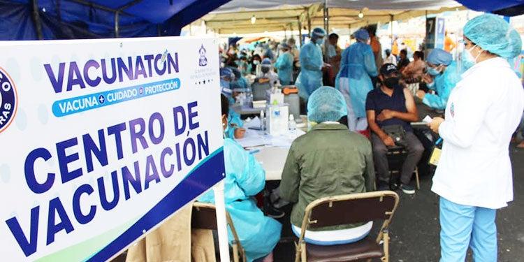 Salud: Segundo Vacunatón en Francisco Morazán durará tres días