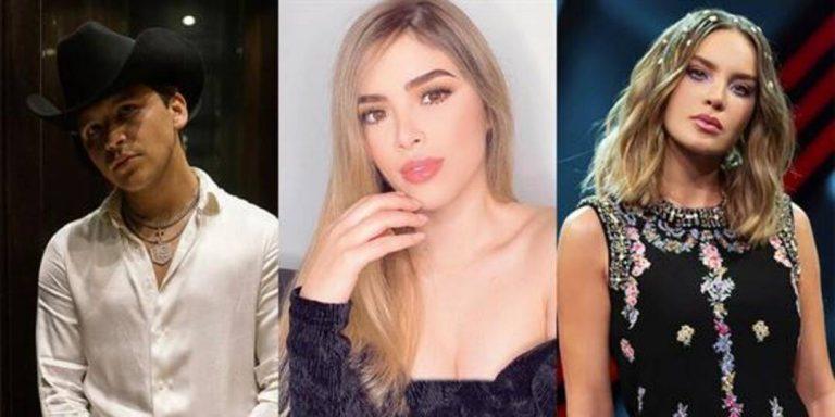 Exnovia de Nodal habla sobre los rumores de ruptura con Belinda