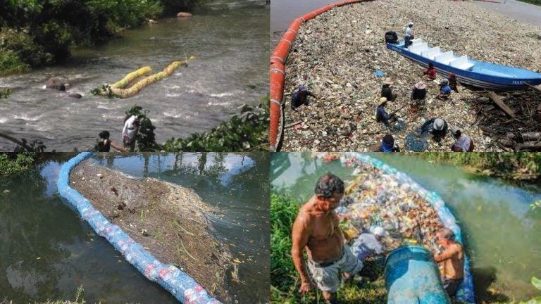 Guatemala, 250 bardas en sus ríos porque en casi todos hay basura