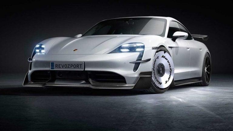 Porsche Taycan, dos kits que le dan otra cara