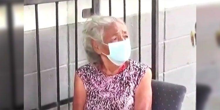 abandonan abuelita triaje SPS