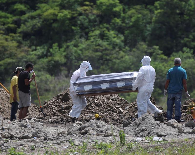 Tasa de letalidad covid en Honduras