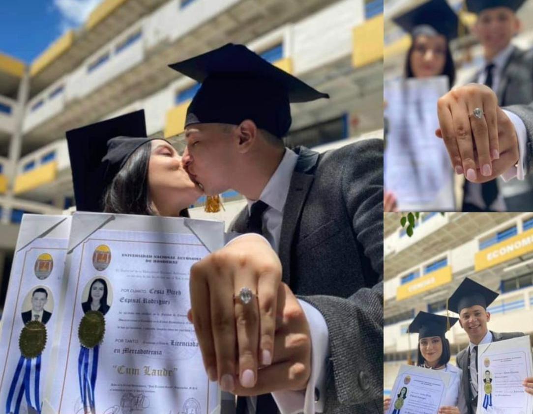 Universitarios se gradúan y comprometen
