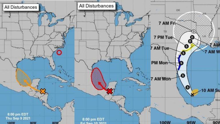 Tras pasar sobre Honduras, se forma la tormenta tropical Nicholas