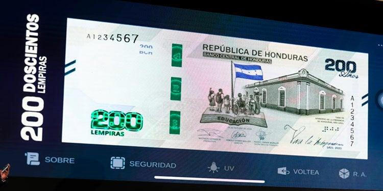El ultimo cambio de la Política Monetaria que realizó el BCH fue la emisión del billete de 200 lempiras el pasado 1 de septiembre.