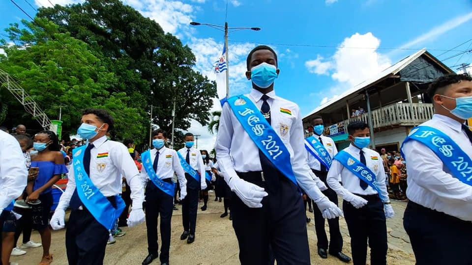 En el departamento de Colón, el desfile patrio se desarrolló el día de ayer, 14 de septiembre.