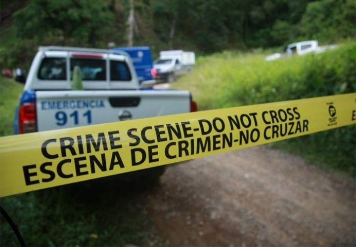 Dos personas mueren en Cantarranas: un acribillado y un ahogado
