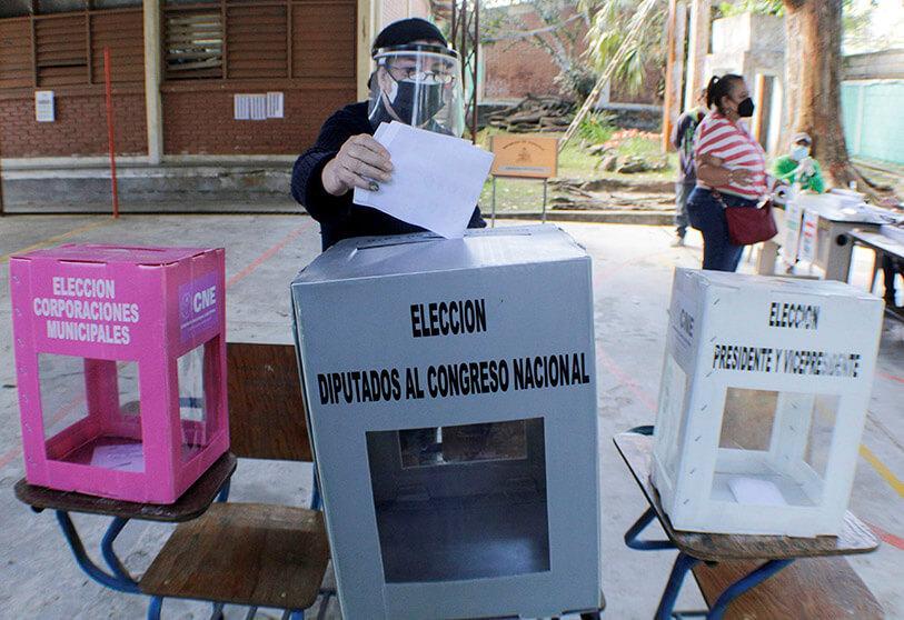La elaboración del censo es vital enHonduras para el proceso electoral.