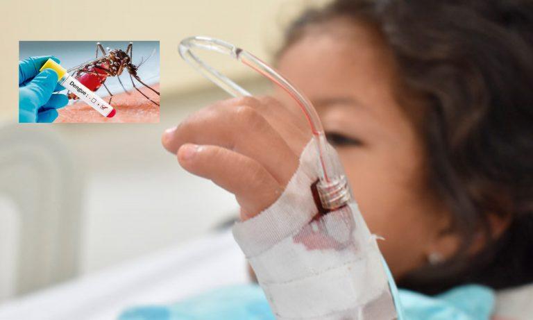Los niños son los más afectados por dengue en Choloma