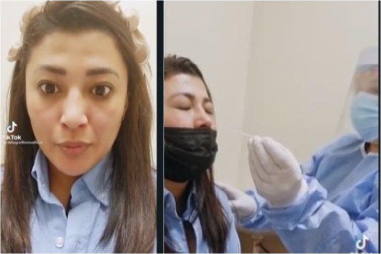 Milagro Flores va al hospital por sospecha de COVID-19