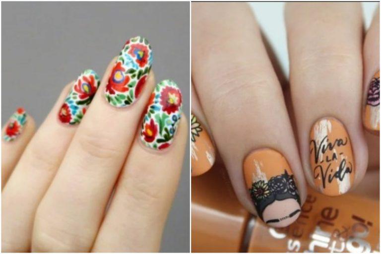 Cinco ideas para agregar el estilo mexicano a tus uñas