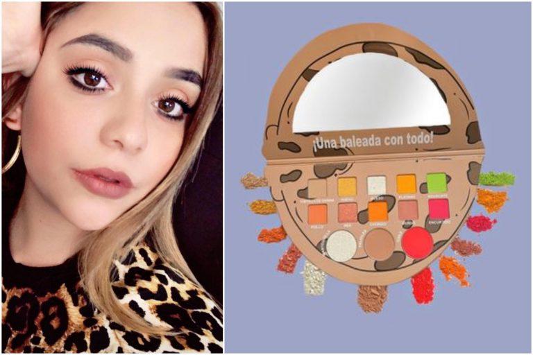 Hondureña crea paleta de maquillaje inspirada en la baleada
