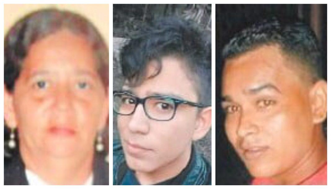 cadáveres de masacre en Puerto Cortés