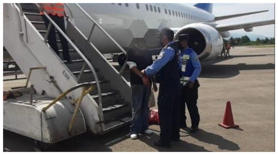 Capturan hondureño deportado