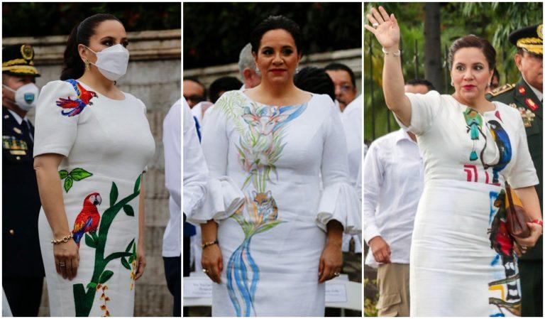 Ocho vestidos que ha usado Ana de Hernández por independencia