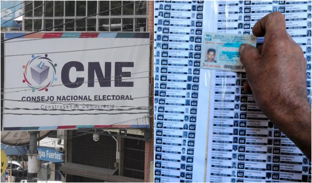 CNE podrá elaborar el Censo Electoral