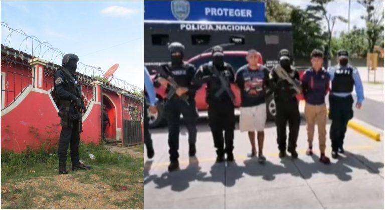 Caen acusados de masacre que dejó cinco muertos Comayagua
