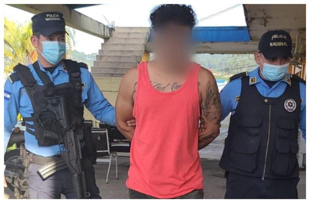 capturan a pandillero en Copán