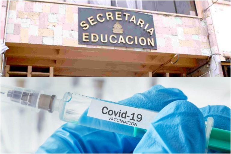 Vacuna es un incentivo para matricular a los niños, dice asesor