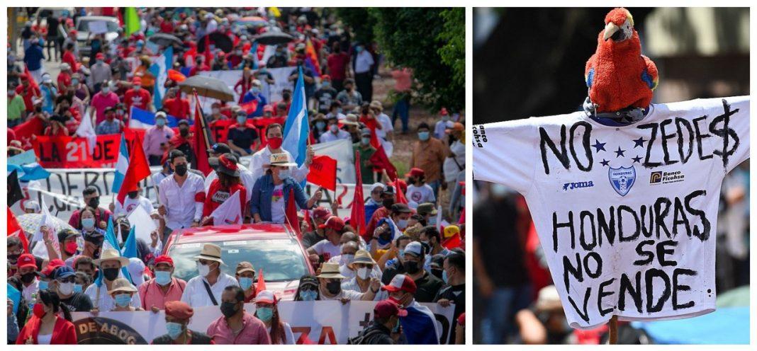 marcha de libre bicentenario