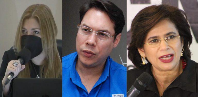 Rixi y Paola Hall rechazan a Jesús Mejía como asesor del CNE