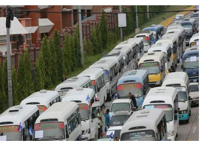Transportistas anuncian tomas