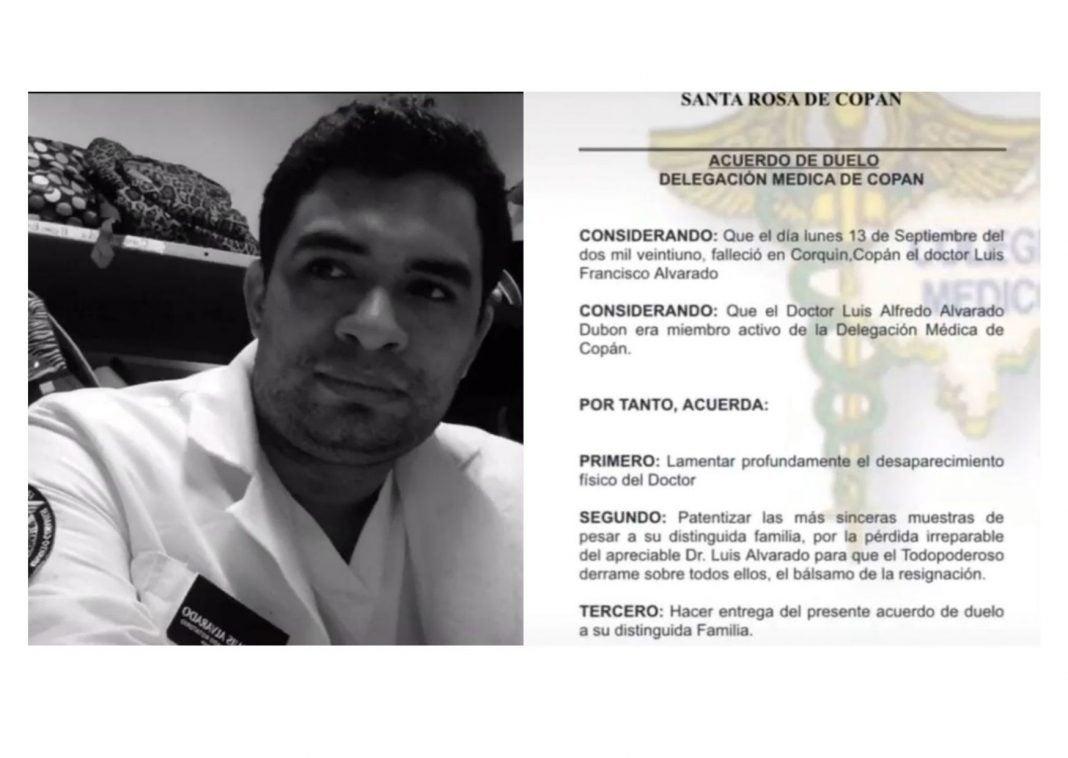 doctor que mataron en Copán