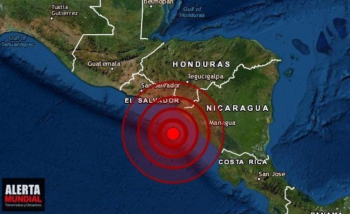 Sismo de 6,5 sacude Nicaragua pero descartan riesgo de tsunami
