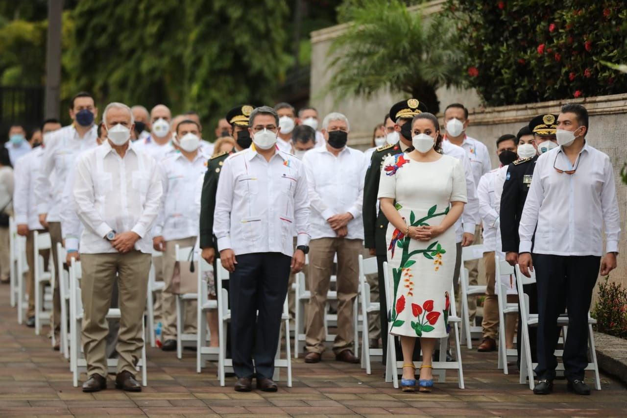 En el evento participaron varias autoridades del Gobierno.