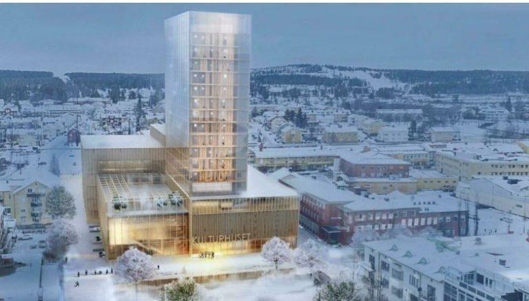 """En Suecia inauguran el edificio de madera """"más grande del mundo"""""""