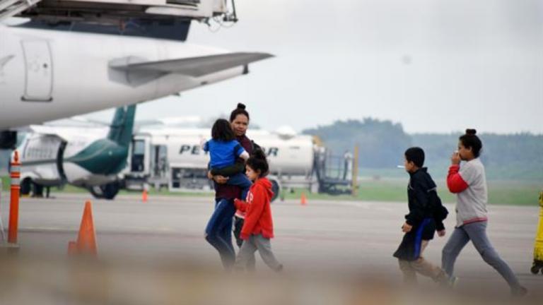 """""""No se come en el camino"""": hondureña retornada relata su vivencia"""