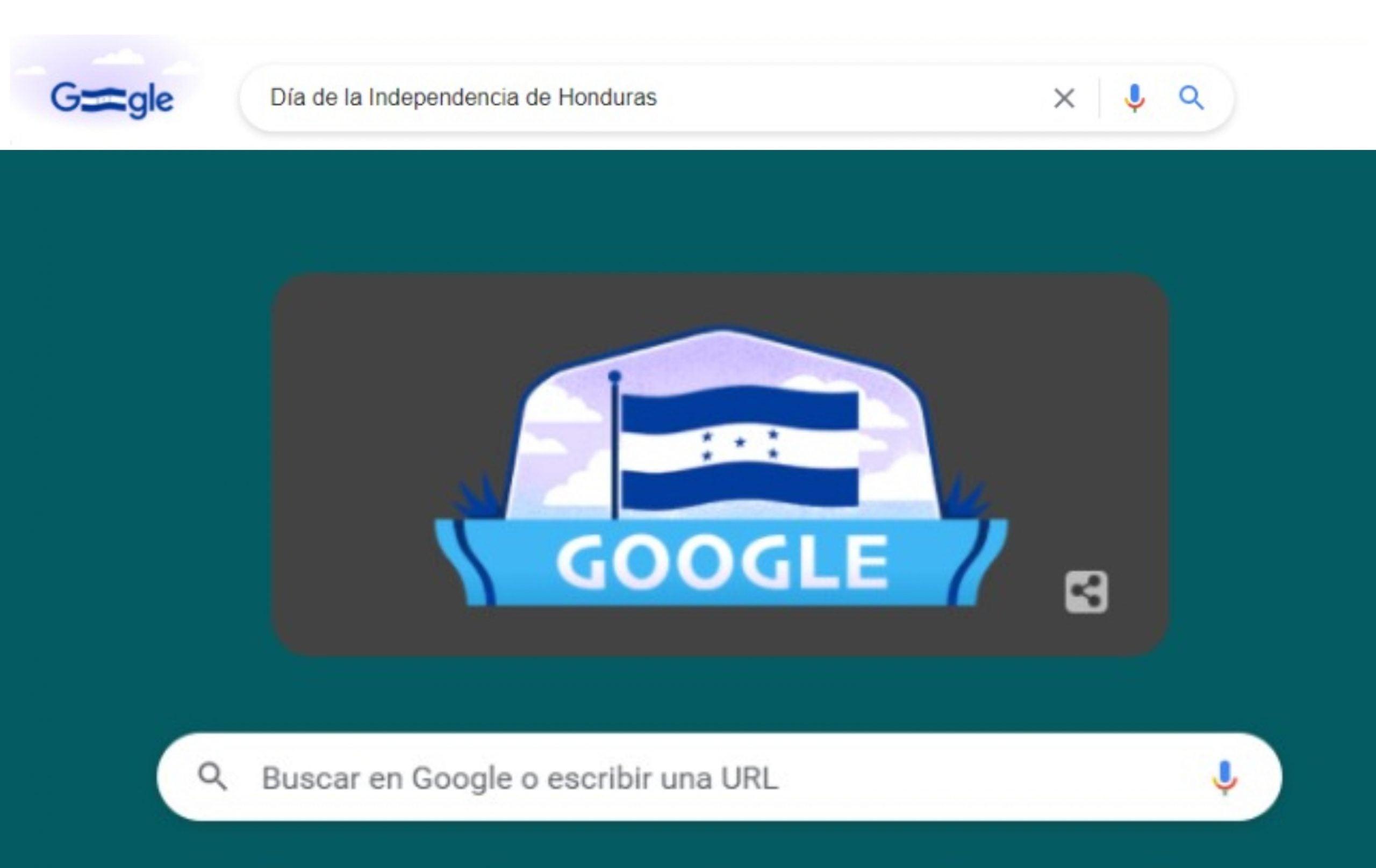 Google Bicentenario de Honduras