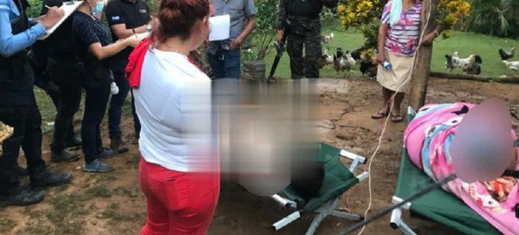 Los nombres de las víctimas eran Deivin Nahúm Pacheco y María Tomasa Gálvez.