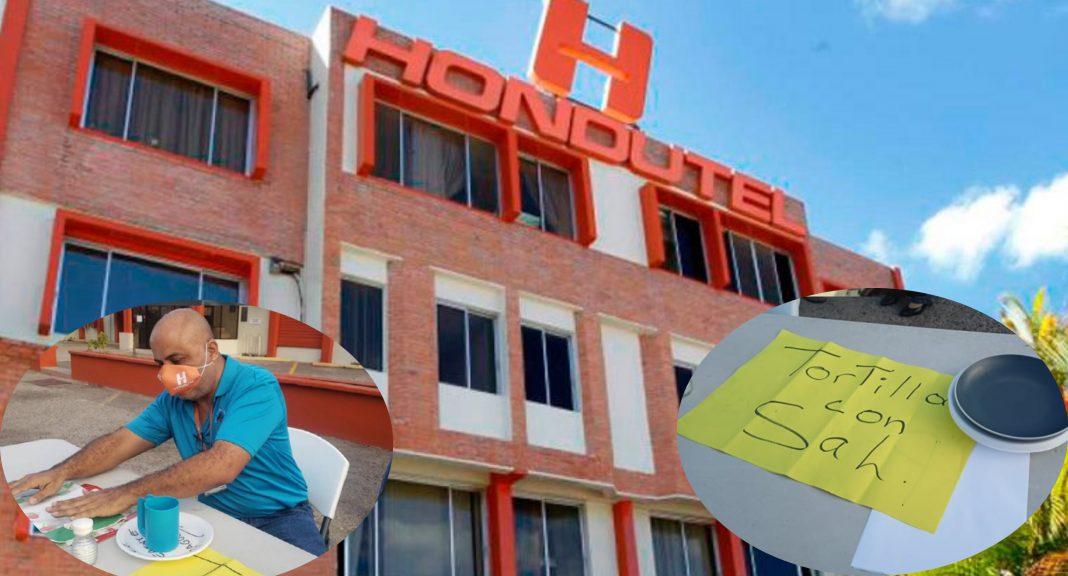 Empleados Hondutel exigen pago salarios