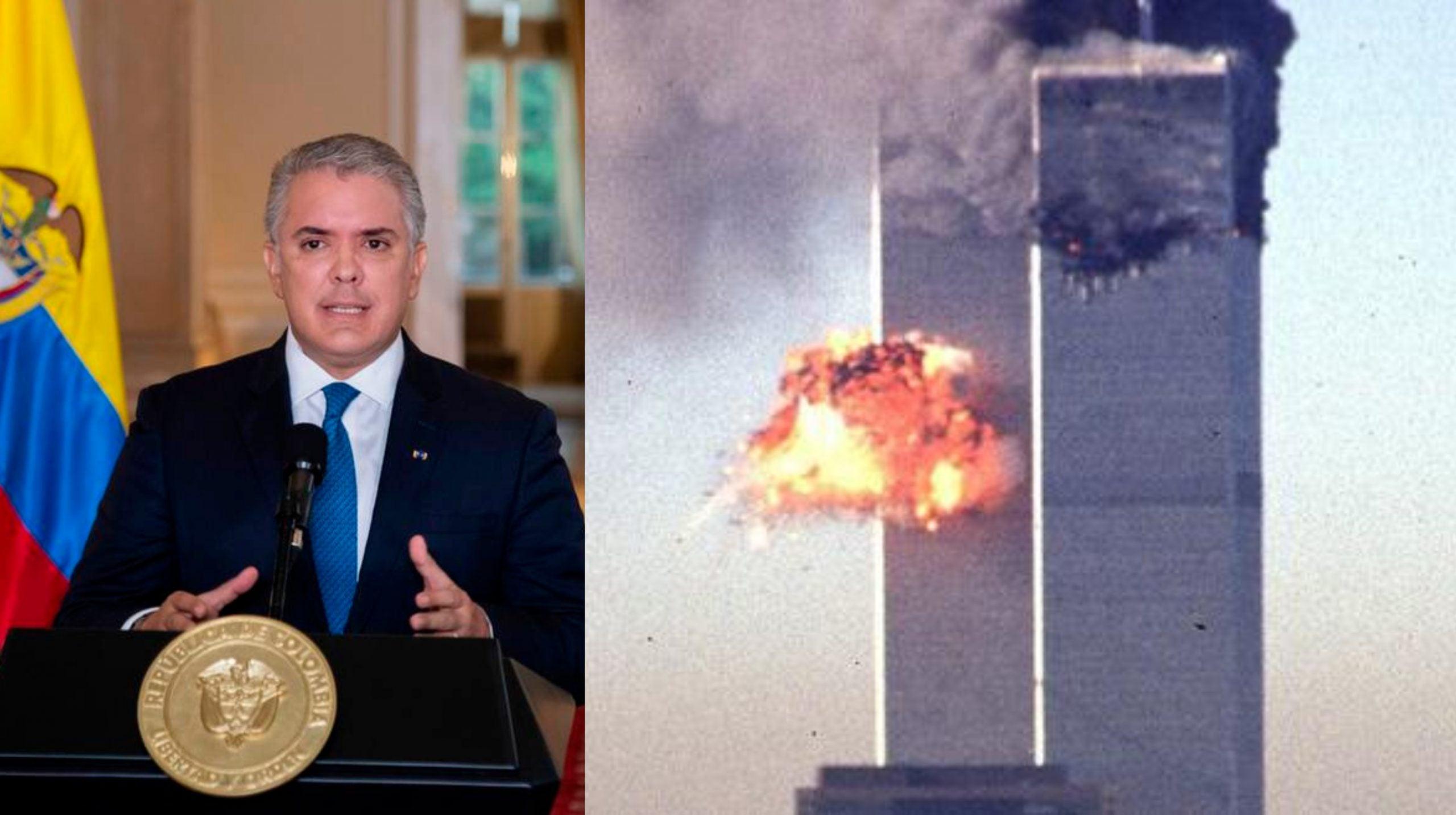 Iván Duque condenó los actos terroristas del 11 de septiembre.