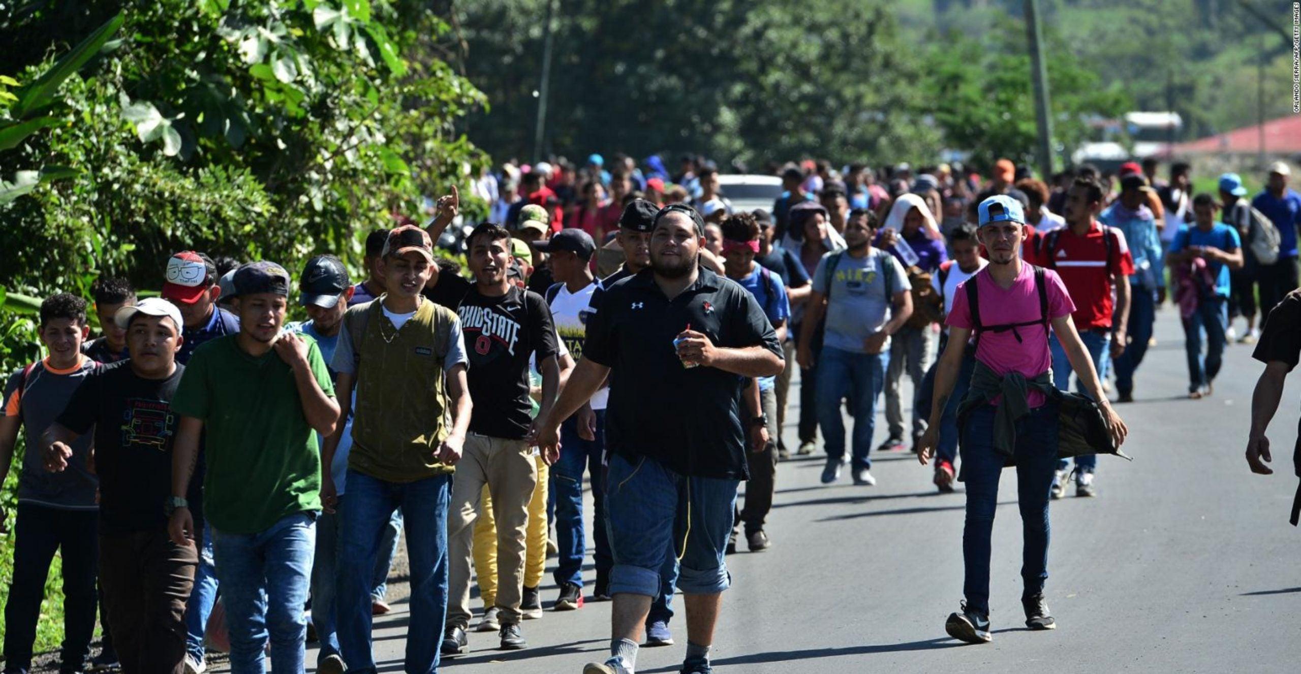Aumento tránsito migración Honduras